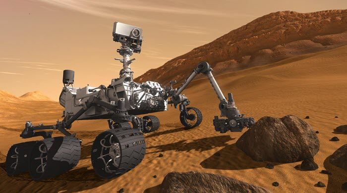 Mars Rover Celebration Update