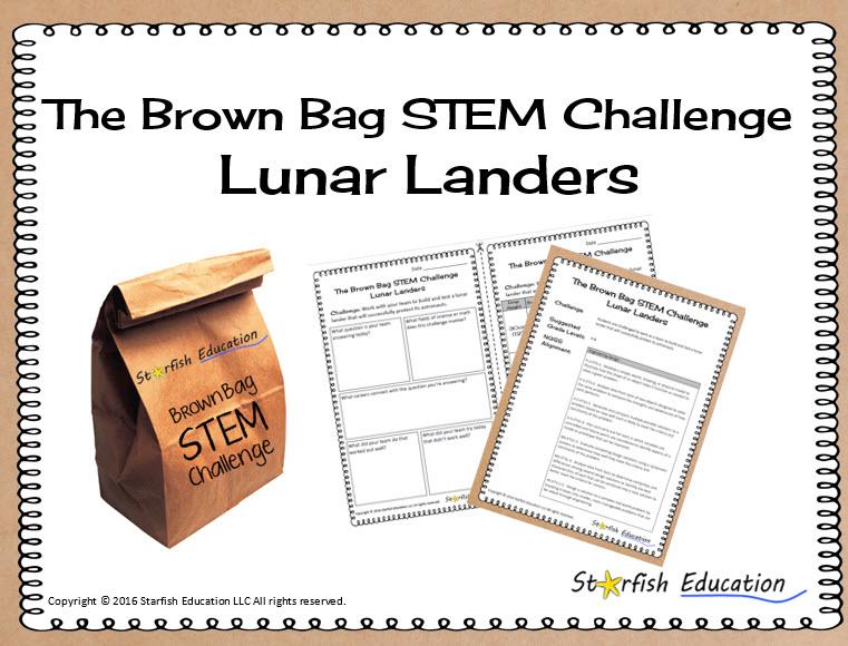 The Brown Bag STEM Challenge- Lunar Landers