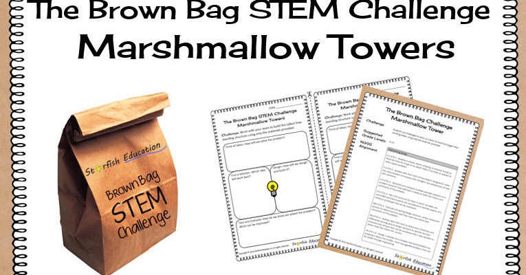 The Brown Bag STEM Challenge- Marshmallow Tower