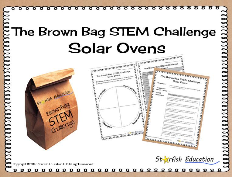 The Brown Bag STEM Challenge- Solar Ovens