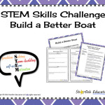 STEM Skills Challenge- Build a Better Boat