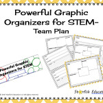 Powerful Graphic Organizers for STEM- Team Plan