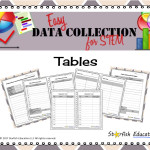 Easy Data Collection for STEM- Tables