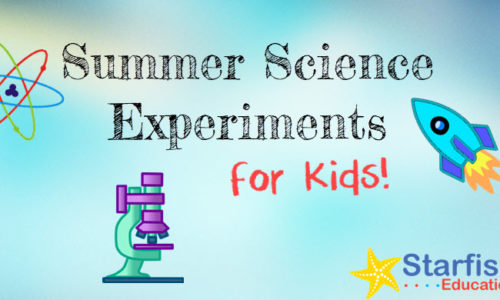 4 Super Fun Science Experiments for Kids