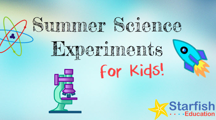 Summer Science Experiments for Kids- Wonderful Water