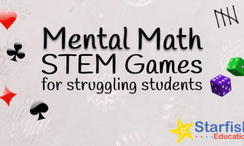 Mental Math STEM Games for Struggling Students- Spinner Bundle