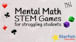 Mental Math STEM Games